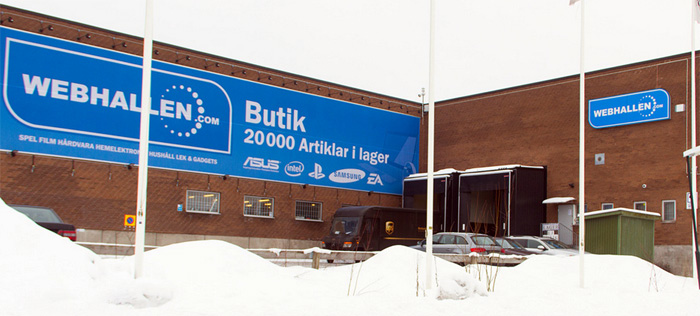 PostNord följer Webhallens nordiska expansion