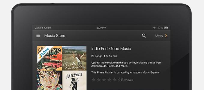 Amazons musiktjänst ska få medlemmar att köpa mer