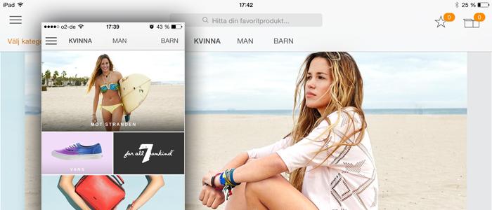 Zalandos svenska app ska underlätta och inspirera