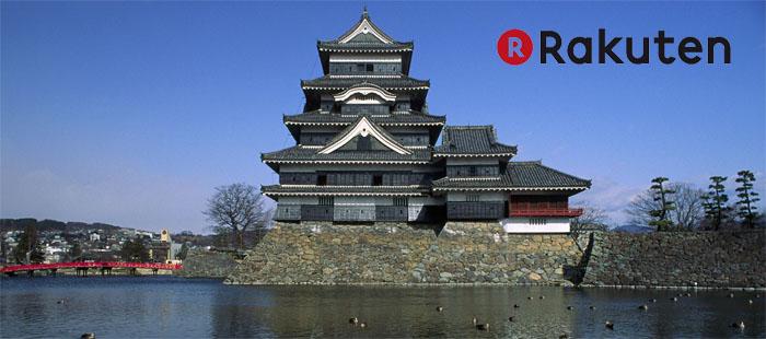 Rakuten bygger vallgravar för att försvara sitt slott