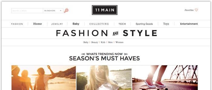11main.com konkurrerar med lyx och inte pris