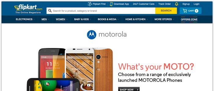 Motorolas onlinestrategi i Indien blev en stor succé