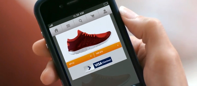 Visa lanserar en ny snabb kassa för E-handlare