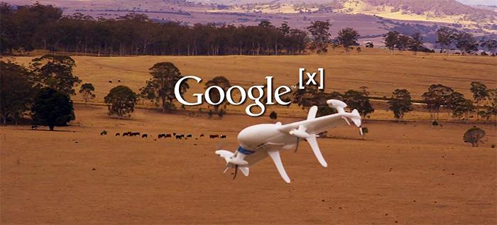 Google ger Amazon en match om drönarleveranser