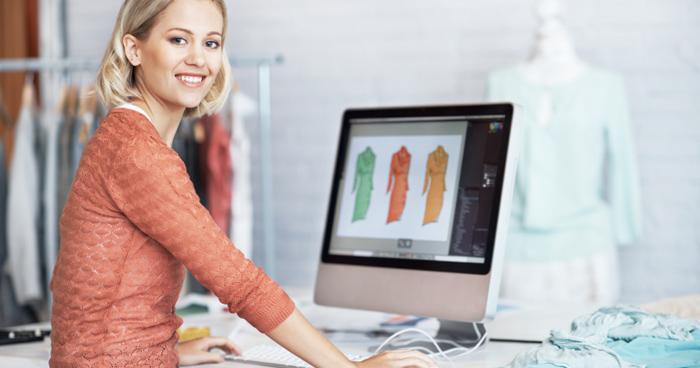 Klädhandeln på nätet ökade med 8 procent
