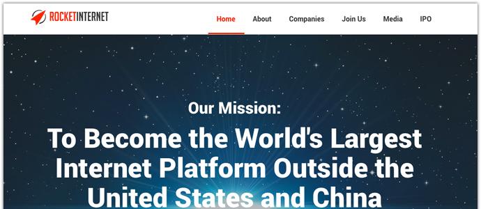 Rocket Internet gör sig redo för börsnotering