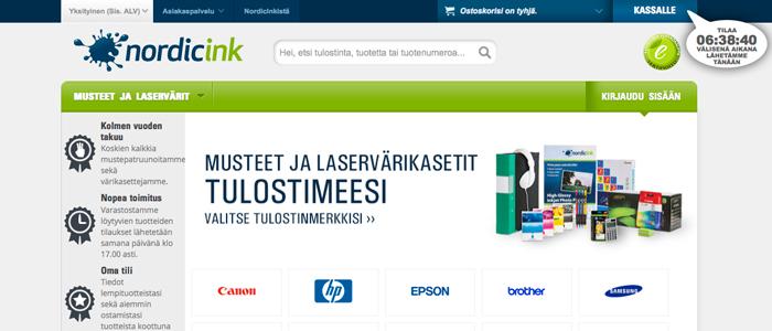 NordicInk har fått en lyckad start i Finland