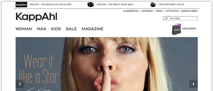 Kappahl lanserar E-handel i Norge och Finland i höst