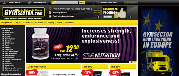 CDON Group lanserar Gymsector för hela EU