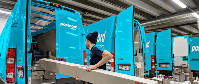 PostNords logistikdel växer tack vare E-handeln