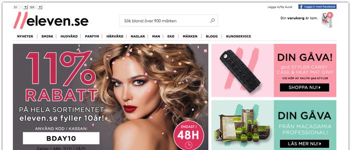 Svensk kosmetikbutik på nätet expanderar i Norden