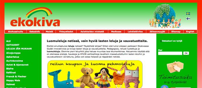 Giftfri webbutik ska visa Finland att ekologiskt är kul