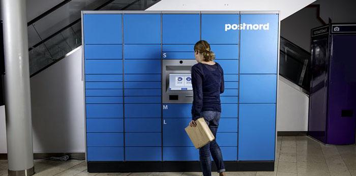Zalando är först ut att testa PostNords paketautomater
