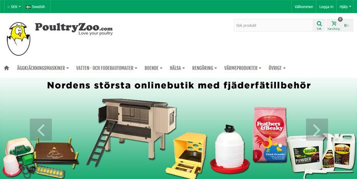 Lantbutiken tar klivet ur hägnet med europeisk sajt