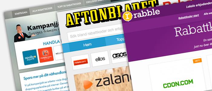 Allt fler sajter kampanjar för ett klipp på nätet