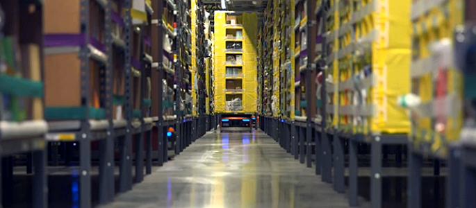 Amazon har över 15 000 robotar på lönelistan
