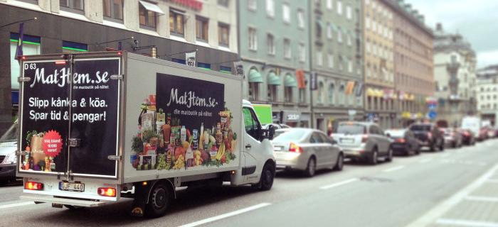 MatHem hoppas nå gröna konsumenter med bilpool