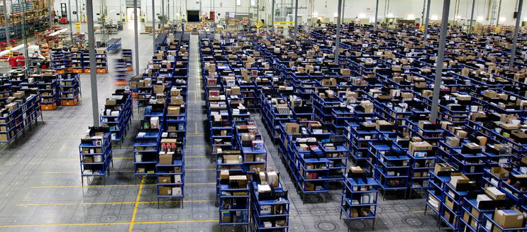 Amazons lagerarbetare förlänger strejken