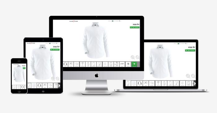 Tailor Store lanserar tjänst för skräddarsytt i mobilen