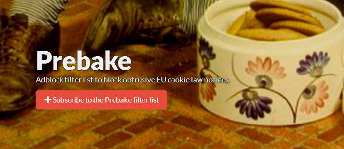 Prebake låter dig slippa störande cookie-notiser