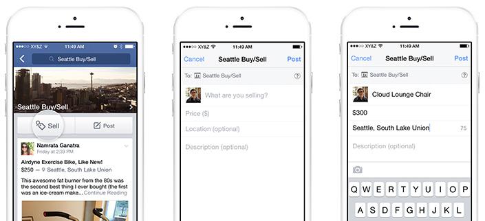 Facebook introducerar säljfunktion för grupper