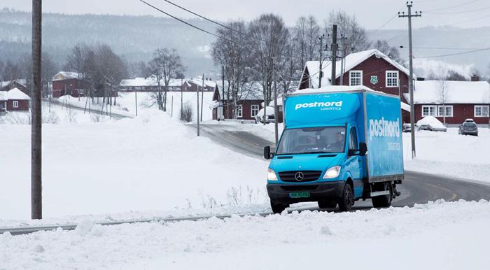 Julens E-handelsrekord hjälpte inte PostNord