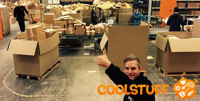CoolStuff kommer att gå World Wide i år