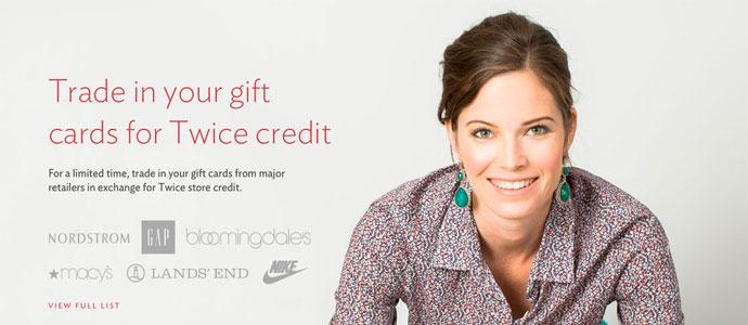 Second hand-butik ger presentkort en andra chans
