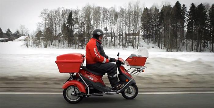 Norska posten tvingas ställa om när breven sinar
