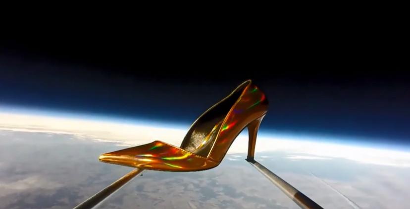 Zalando skickar skor ut i rymden