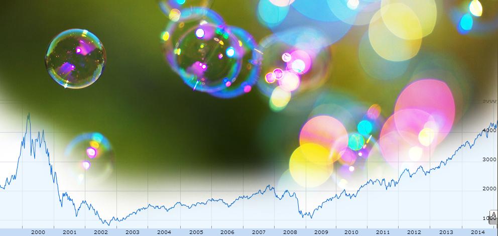 Dagens bild: Nasdaq nu på samma nivå som innan IT-bubblan sprack