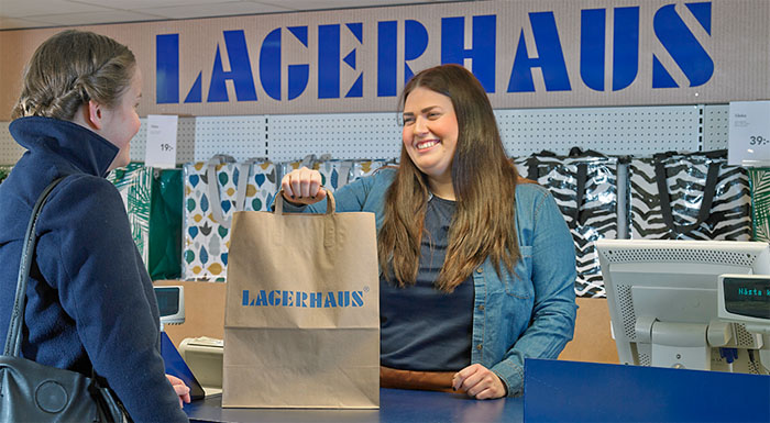 Lagerhaus vill ta sin E-handel till en ny nivå
