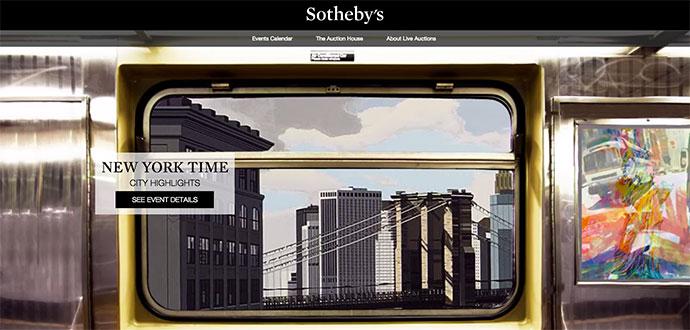 Sothebys kör prestigefyllda konstauktioner på Ebay