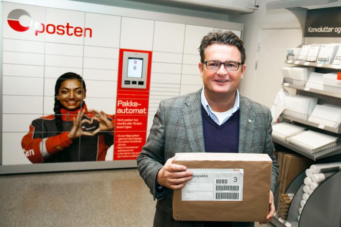 Posten Norge placerar ut flera paketautomater i Oslo