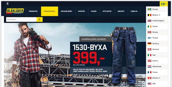 Blåkläder samlar E-handeln under ett och samma tak
