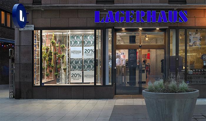 Lagerhaus nordiska E-handel redo för lansering
