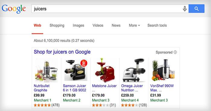 Google inför stöd för produktbetyg i Europa