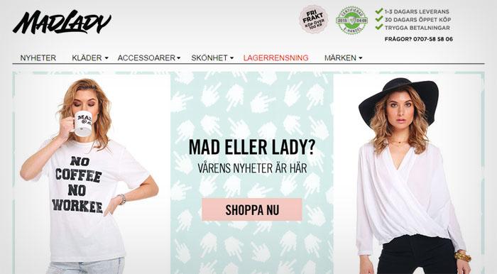 Nätbutiken Mad Lady satsar stort som Årets modebutik
