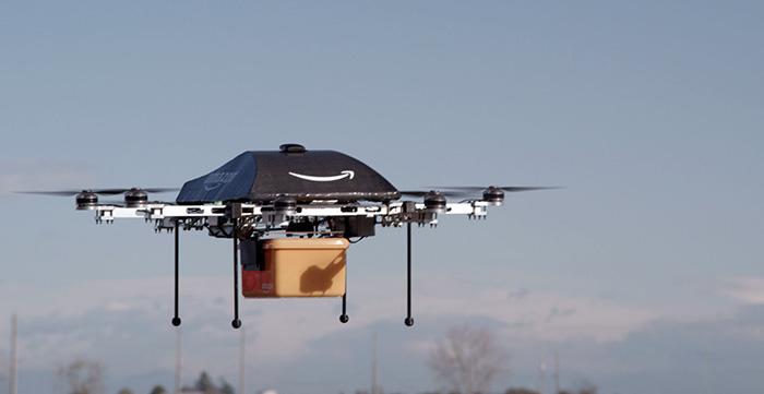 Nu kan Amazon äntligen testa sin drönare i USA