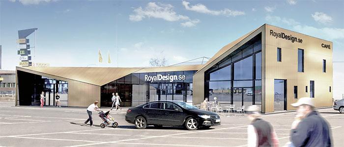 Royal Design bygger nytt designhus i Jönköping
