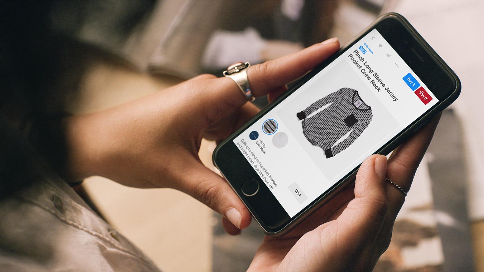 Snart lanserar Pinterest sin beryktade köpknapp