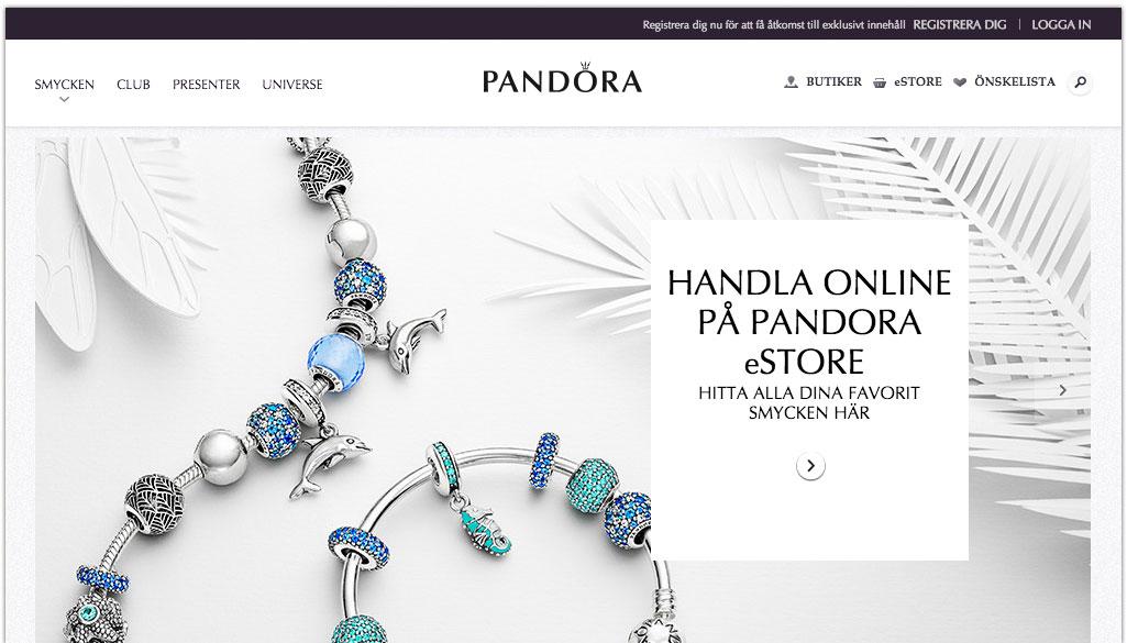Pandora öppnar upp för svenska nätkunder