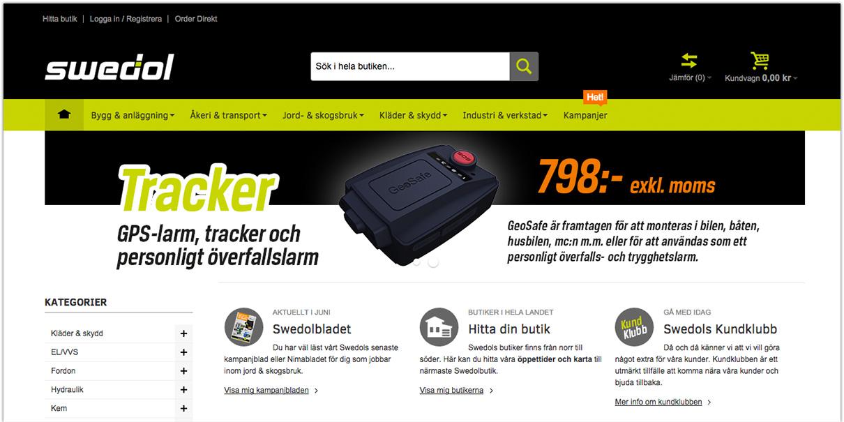 Swedols nya storägare ser möjligheter på nätet