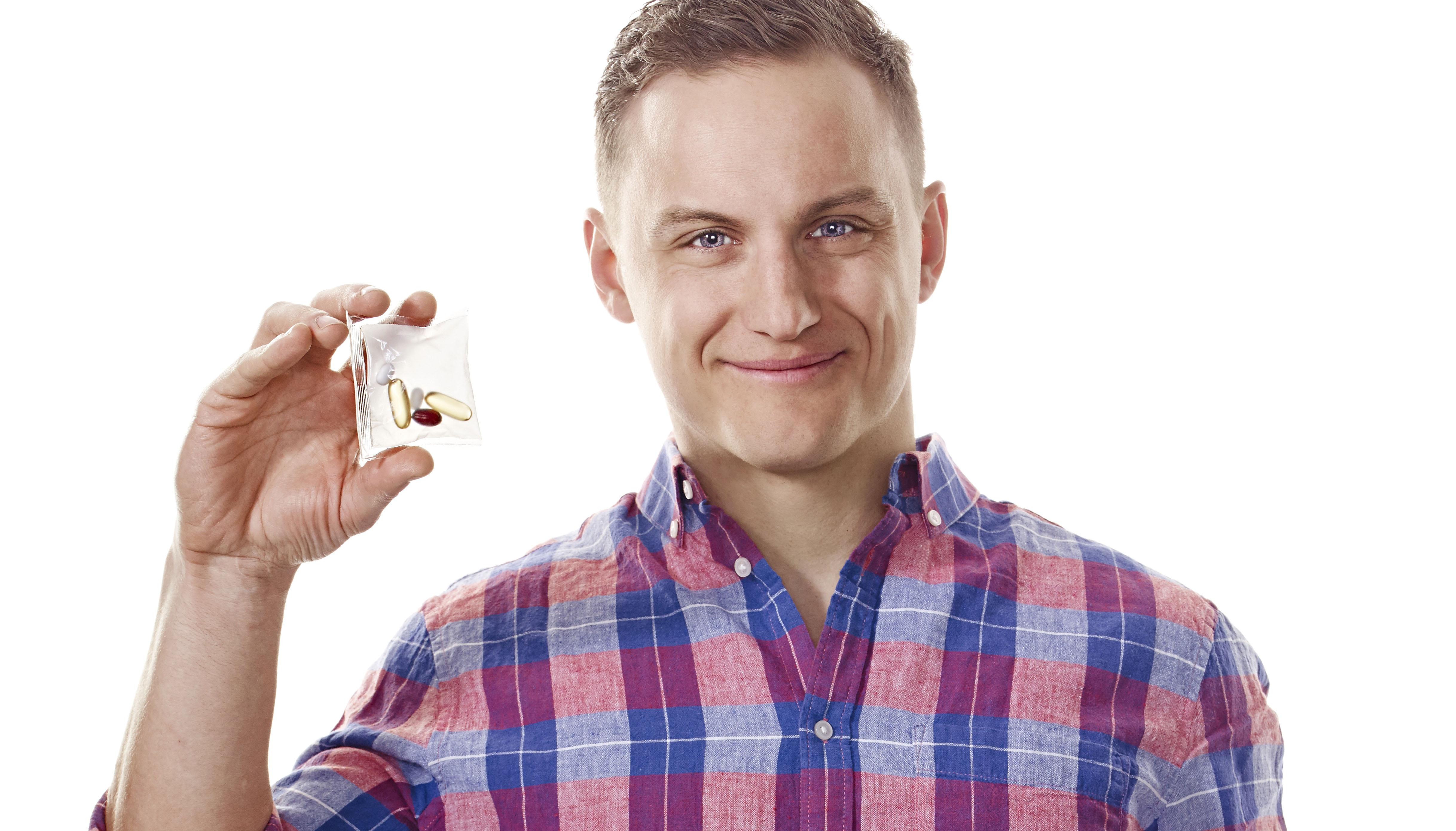 Prenumerationstjänst för skräddarsydda vitaminer