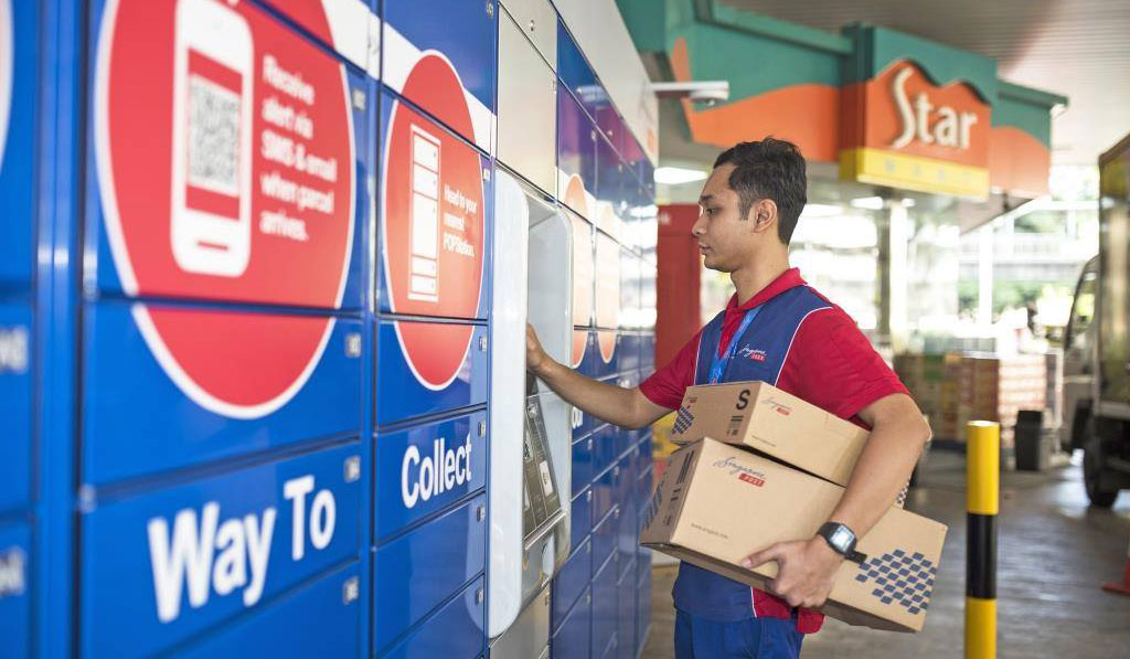 Alibaba öser in mer pengar i sin logistikverksamhet