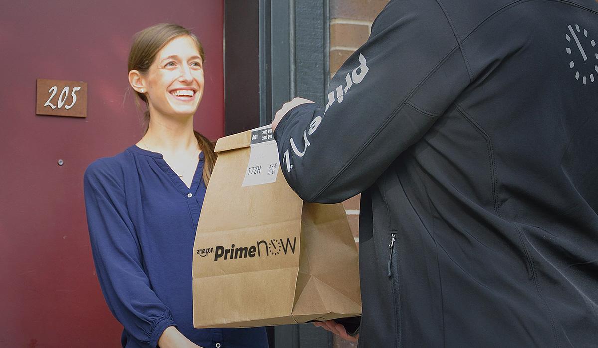 Amazon lanserar en über-liknande leveransservice