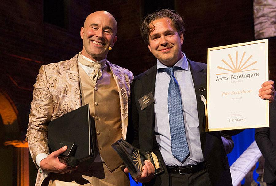 E-handelskungen Pär Svärdson blir Årets Företagare 2015