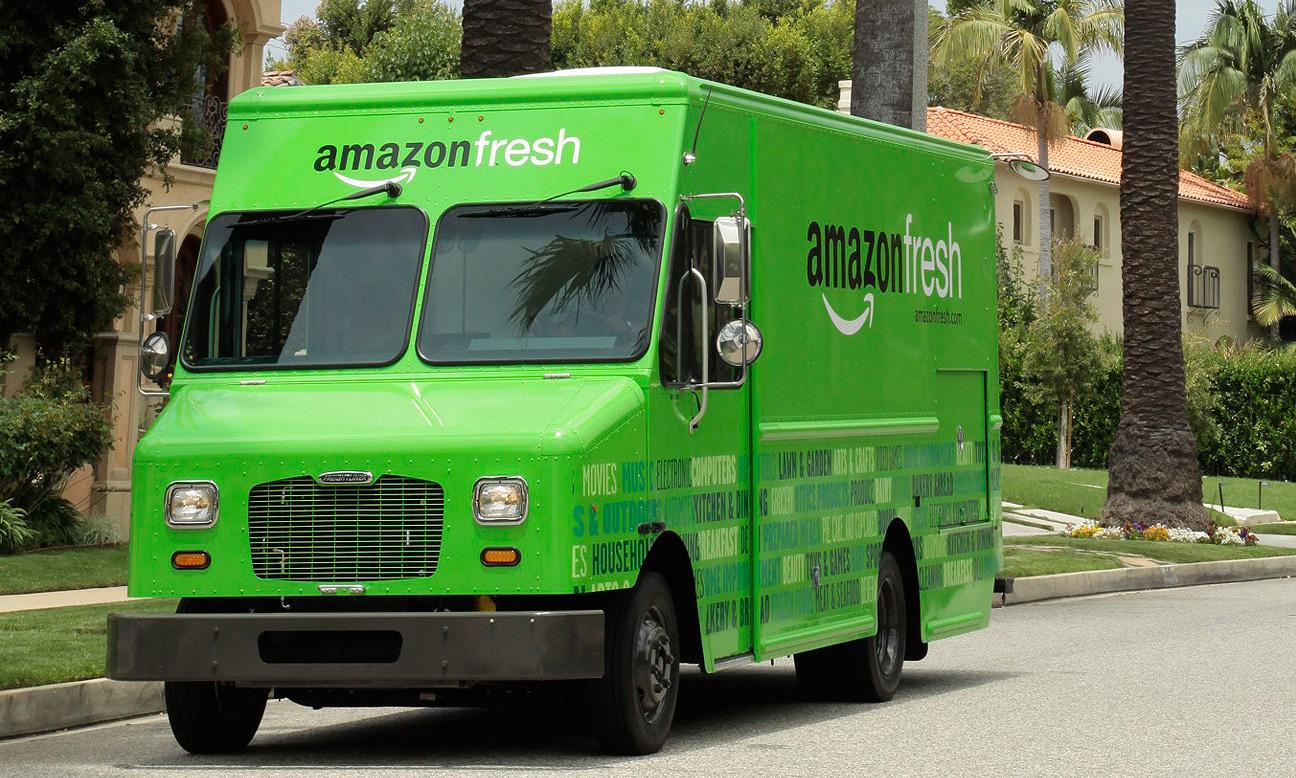 Amazon börjar ta betalt för sina matleveranser