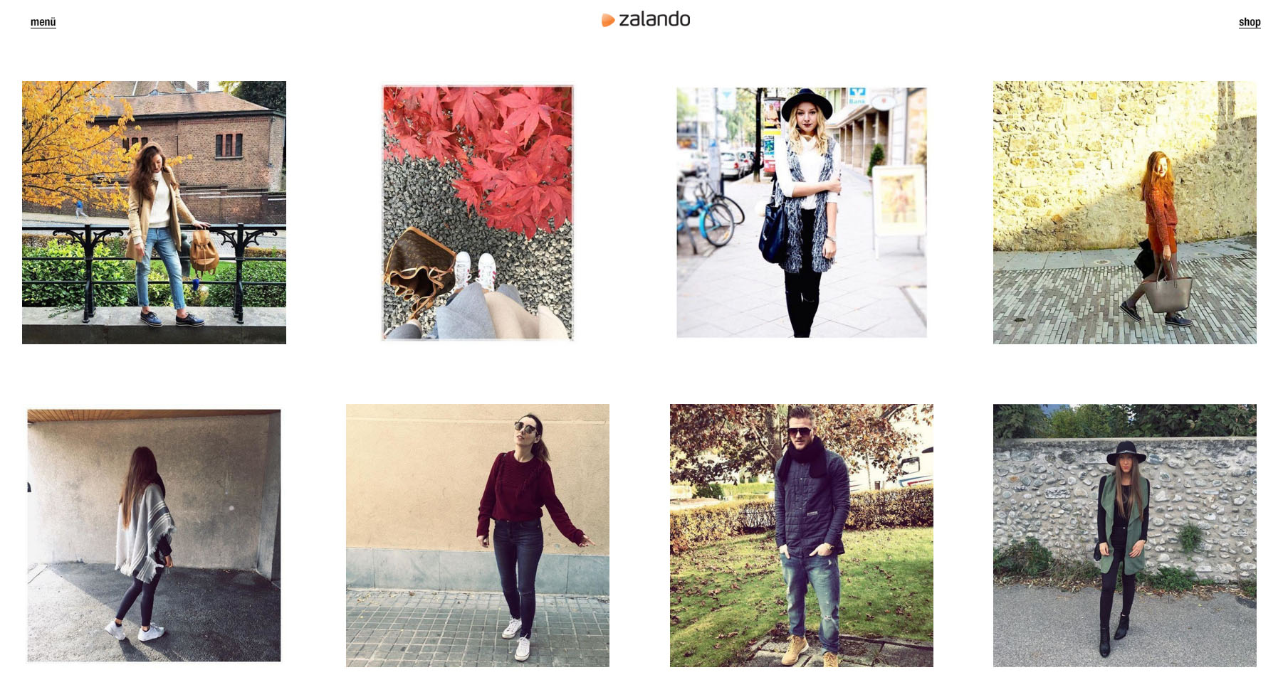 Zalando gör det möjligt att shoppa från Instagram-bilder