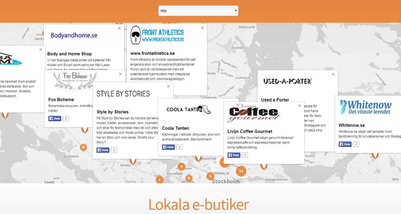 Betalföretag lanserar karta för att öka den lokala e-handeln